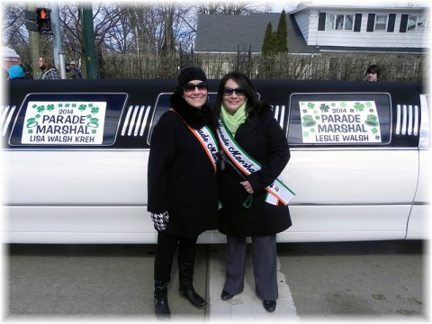 Lisa and Leslie Parade 2014