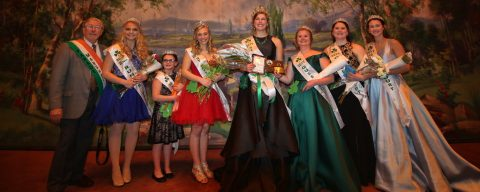 2019 Parade Marshal, Queen, Princess and Court